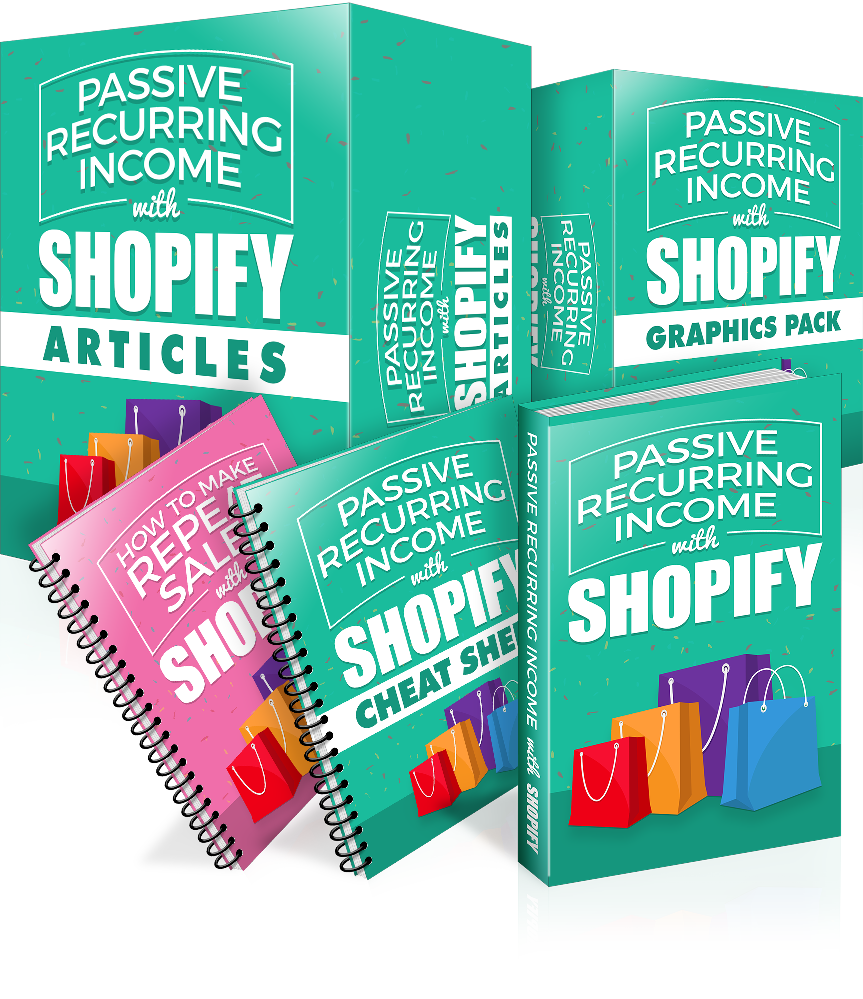 Passive-Recurring-Income-with-Shopify-Boxset